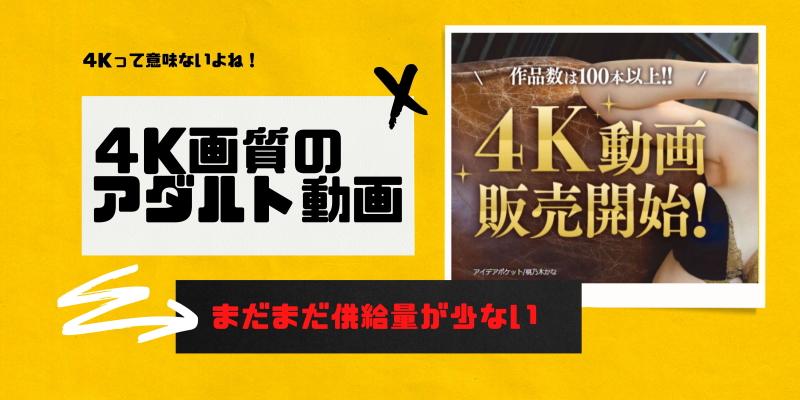 4K配信で選ぶ動画配信サービス大人向け(VOD)6選!